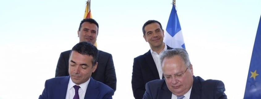 Συμφωνία Τσίπρα - Ζάεφ