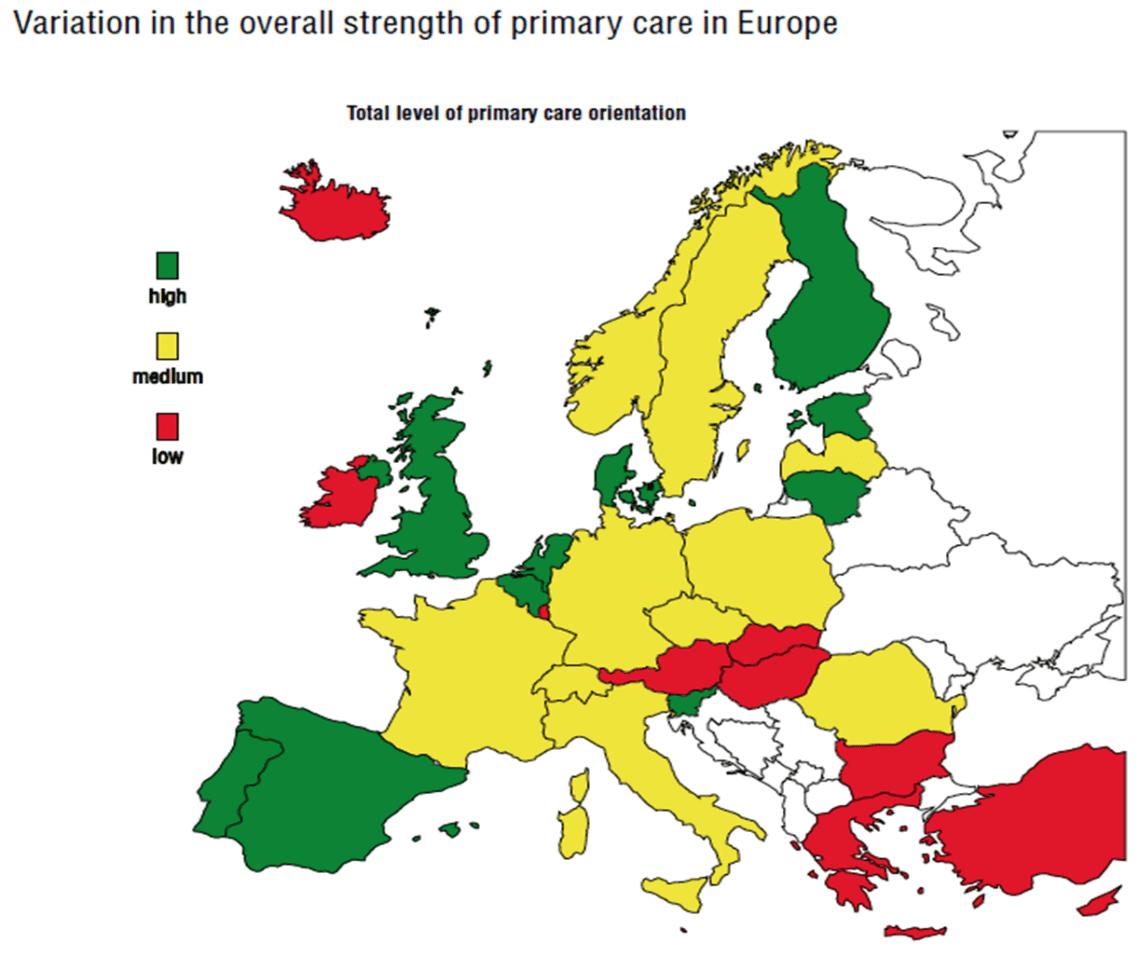 ΠΦΥ στην Ευρώπη